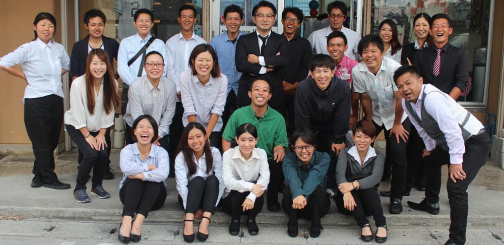 沖縄県那覇市有限会社ドリームエントランスの求人、仕事紹介サイトの社員画像です。